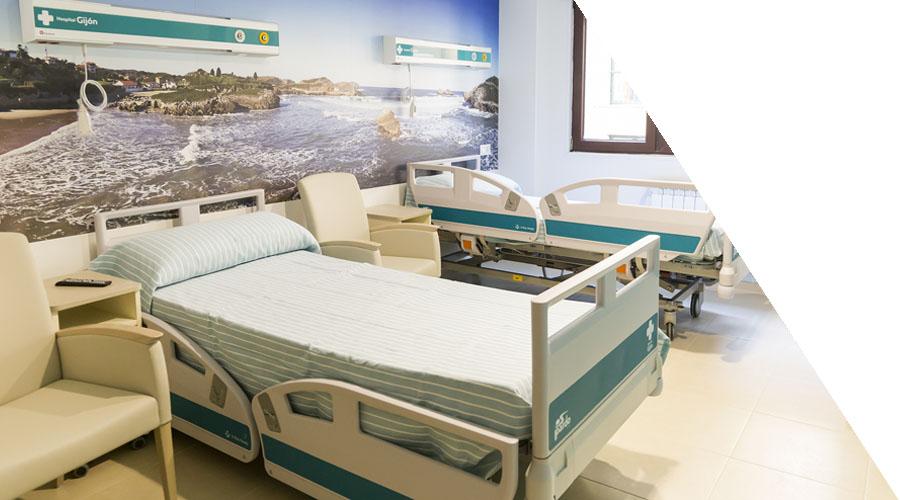 Habitaciones Hospital Gijon Area Hospitalaria