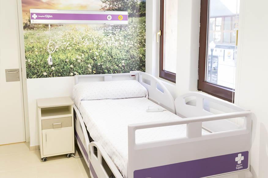 Hopsital Gijon hospitalizacion