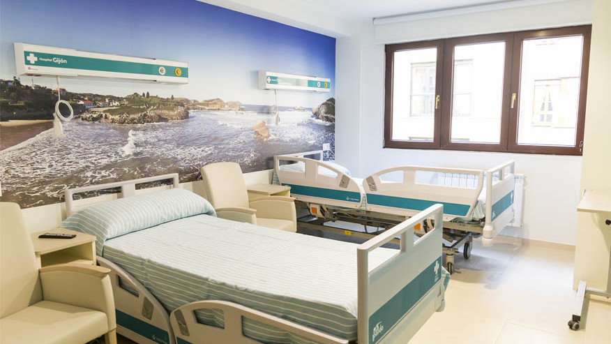 habitacion hopsitalizacion hospital gijon